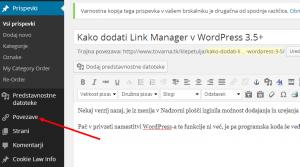 povezave_WordPress