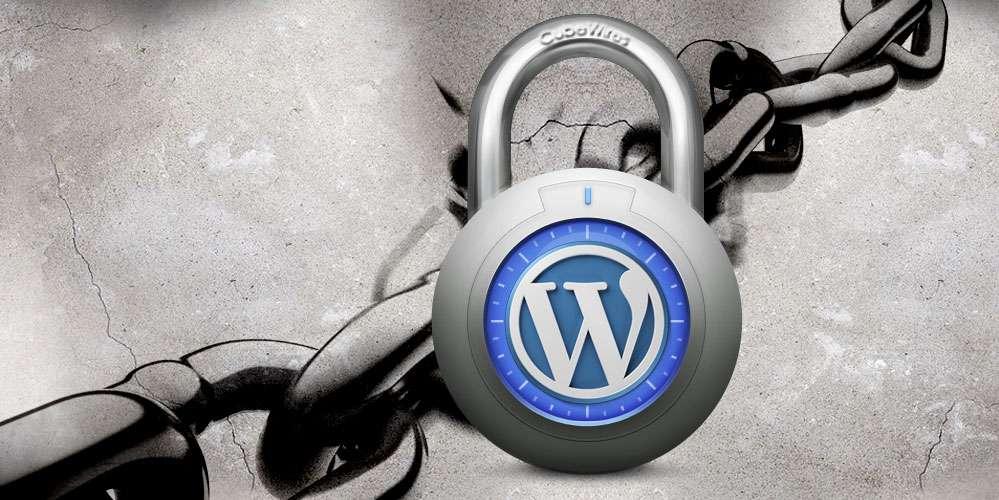 WordPress varnost