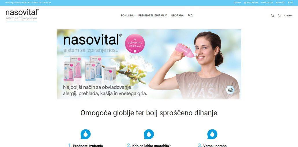 Nasovital - nova spletna trgovina